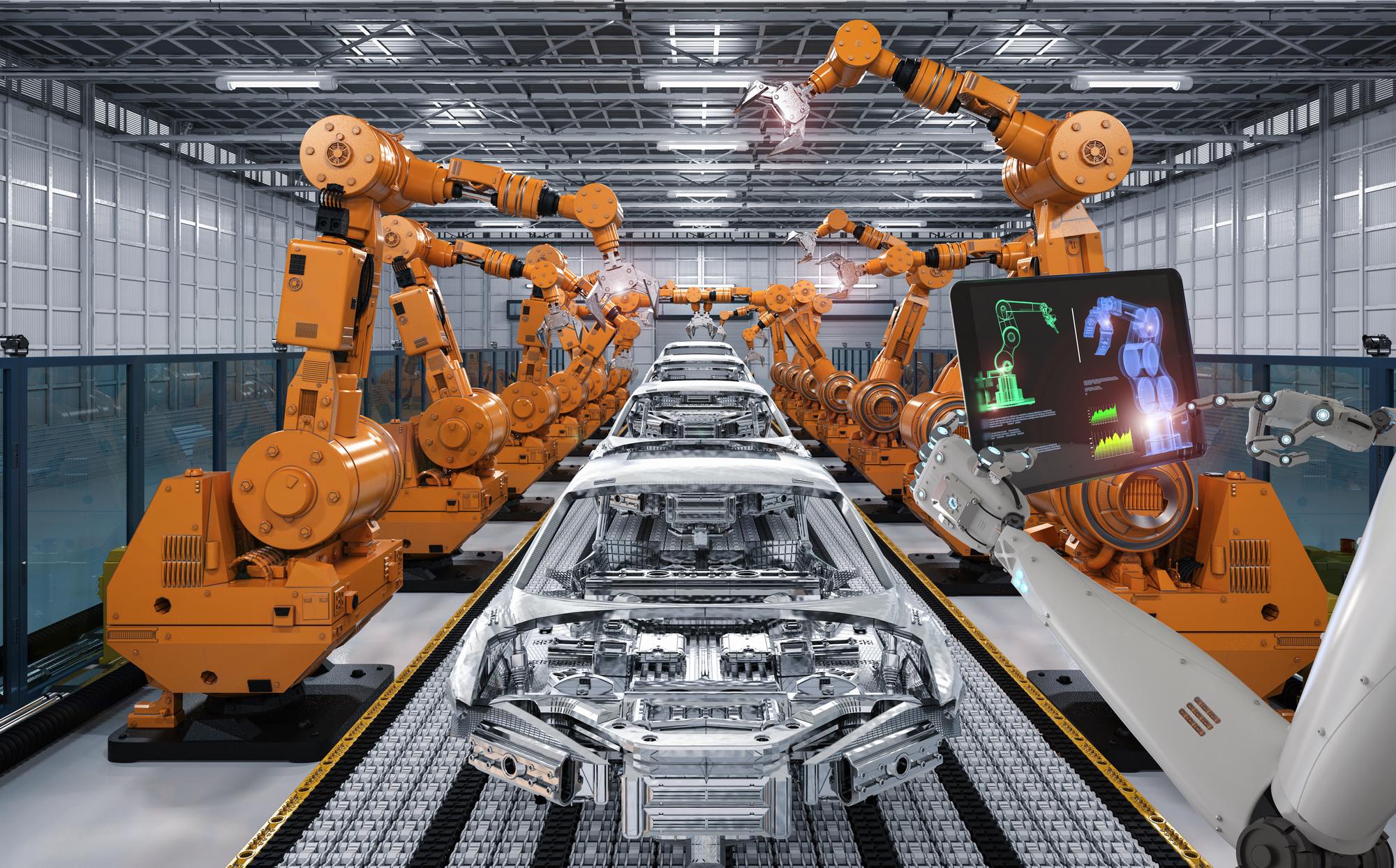 ロボットの種類と産業用ロボットの制御・プログラミング方法