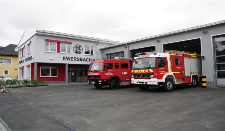 Dietzhölztal-Ewersbach消防署:電子装置用の安全なキャビネット