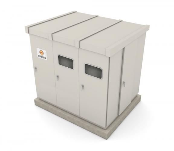商業施設や工場にある金属製の箱、キュービクルとは?